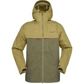 Norrøna Svalbard Cotton Jacket Herre olive drab